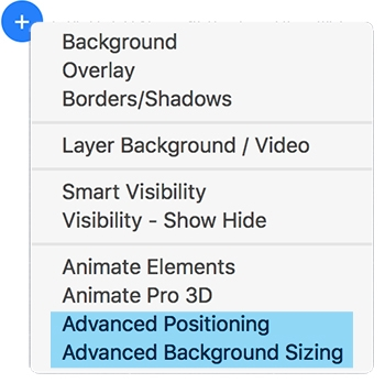 Two new stacks to max your designs advanced positioning and background sizing are powerful layout tools that can be used as child stacks with either sections or blueprint malvernweather Choice Image